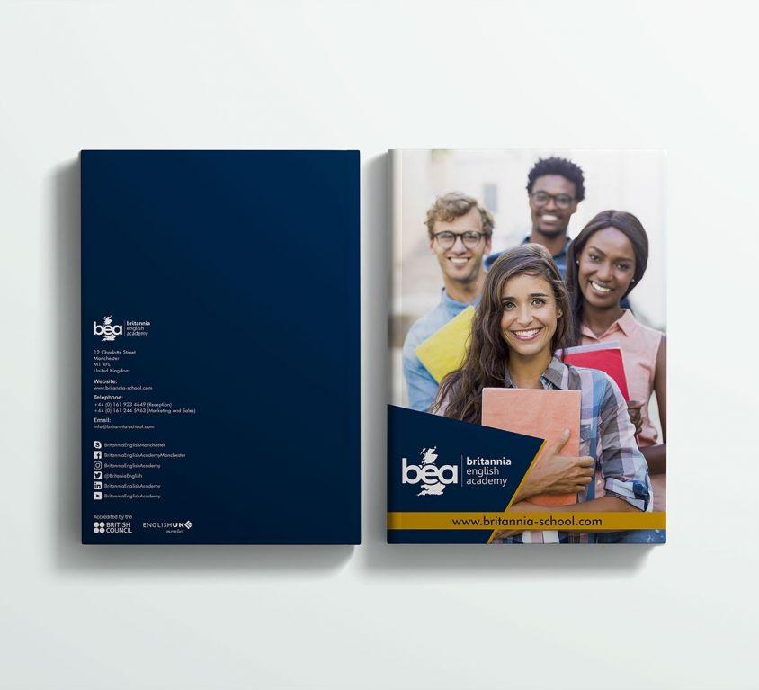 Britannia English School – Branding