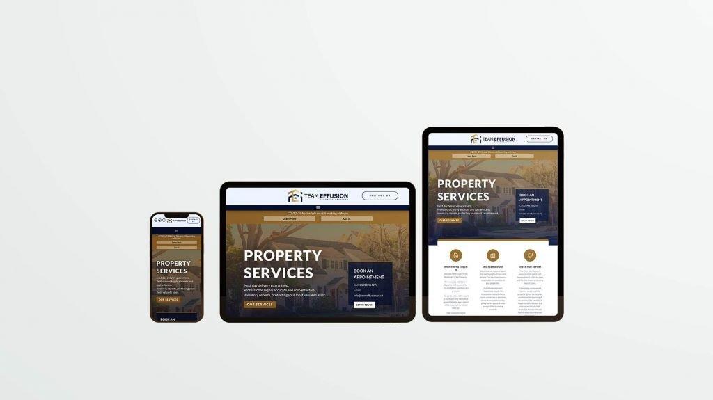 mobile responsive bespoke webdesign