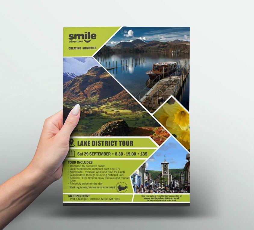 Smile Adventures – Graphic Design