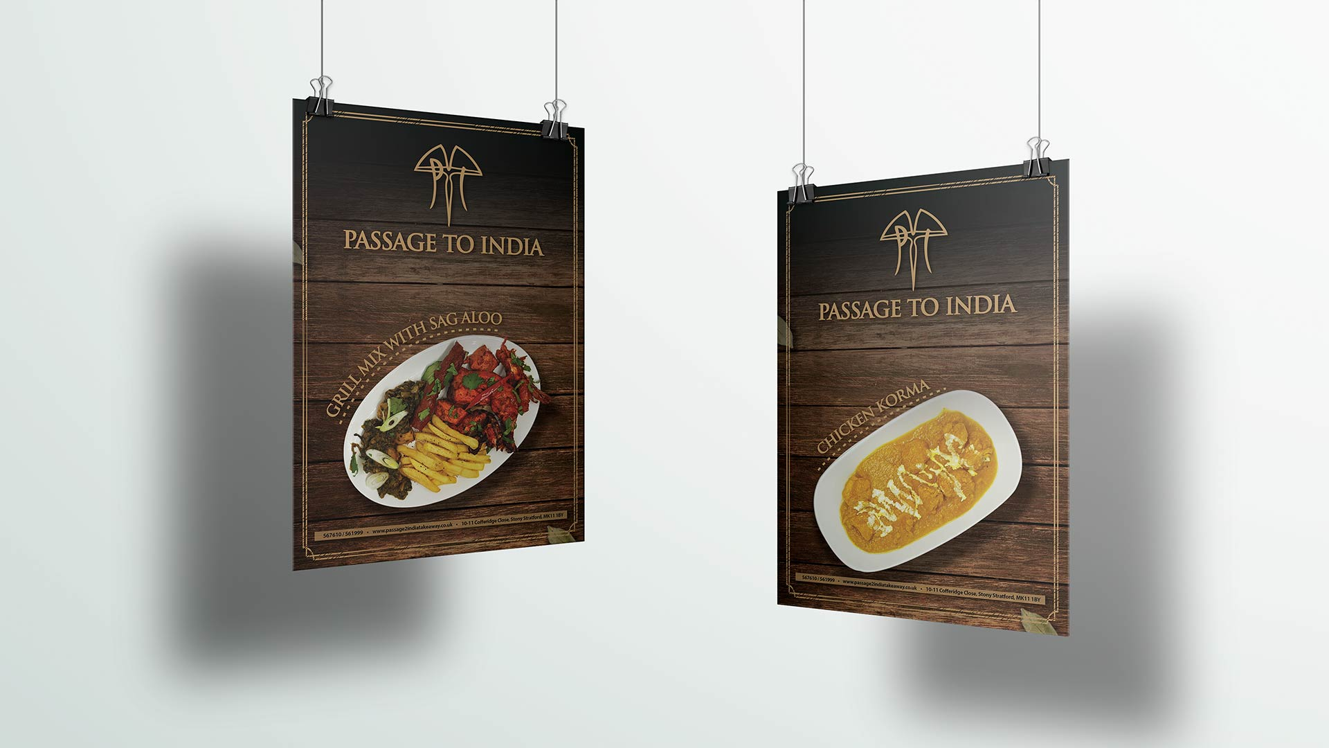 food poster design for passage to india