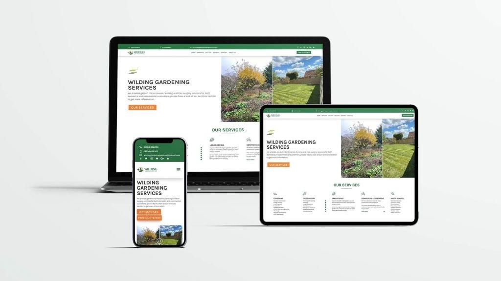 landscaping responsive web design