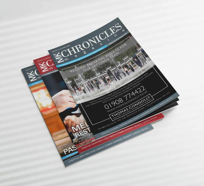 MK Chronicles – Magazine Design