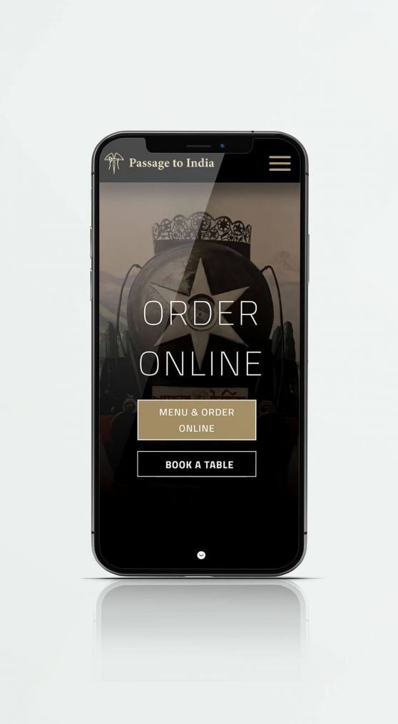 Passage to India – Restaurant Website Design