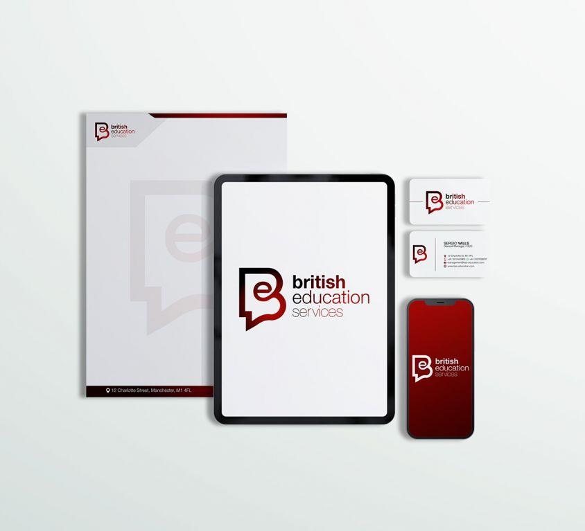 British Education Services – Graphic Design