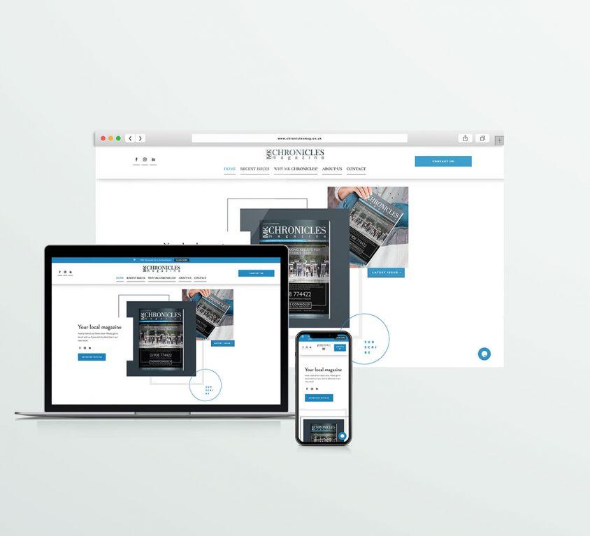 MK Chronicles – Webdesign